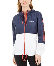 Plus Size Hooded Rain Jacket