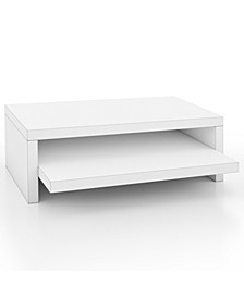 Deluxe 2-Shelf Monitor Stand