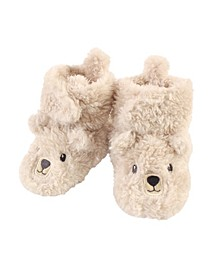 Baby Girls and Boys Cozy Fleece Bear Booties