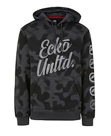Men's 2 Color Camo Hoodie with Vert Rhino Repeat