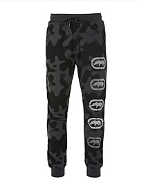 Men's 2 Color Camo Jogger with Vert Ecko Repeat