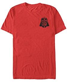 Star Wars Men's Vader Detailed Pocket Helmet Short Sleeve T-Shirt