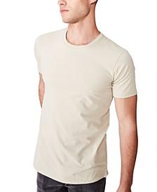 Essential Longline Curved Hem T-Shirt
