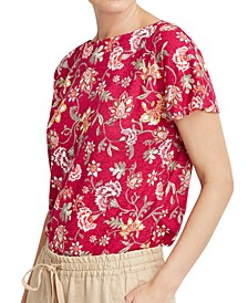 Casual Floral T-Shirt
