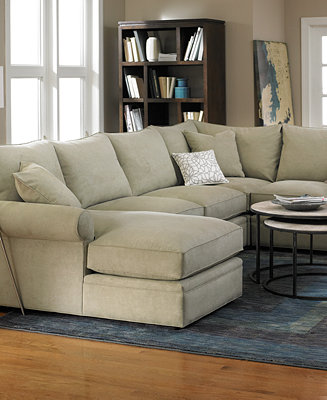 Doss Fabric Sectional Living Room Furniture Collection Furniture Macy 39 S