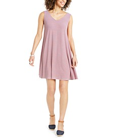 Plus Size Cross-Back Swing Dress, Created for Macy's