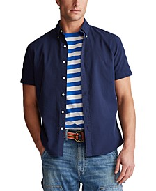 Men's Classic-Fit Seersucker Shirt