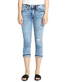 Elyse Capri Jeans