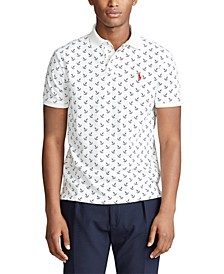 Men's Custom Slim-Fit Anchor Polo