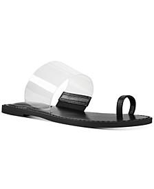 Obrious Vinyl Slide Sandals