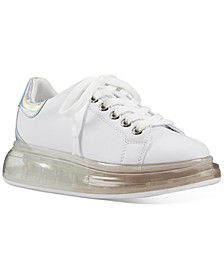 Allie Lace-Up Bubble Sneakers