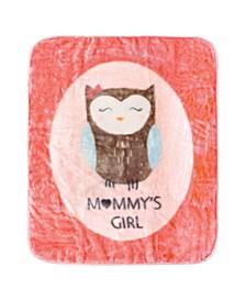 Baby Girls Mommys High Pile Plush Blanket