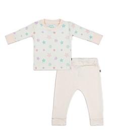 Baby Girls Snowflakes Loungewear Set