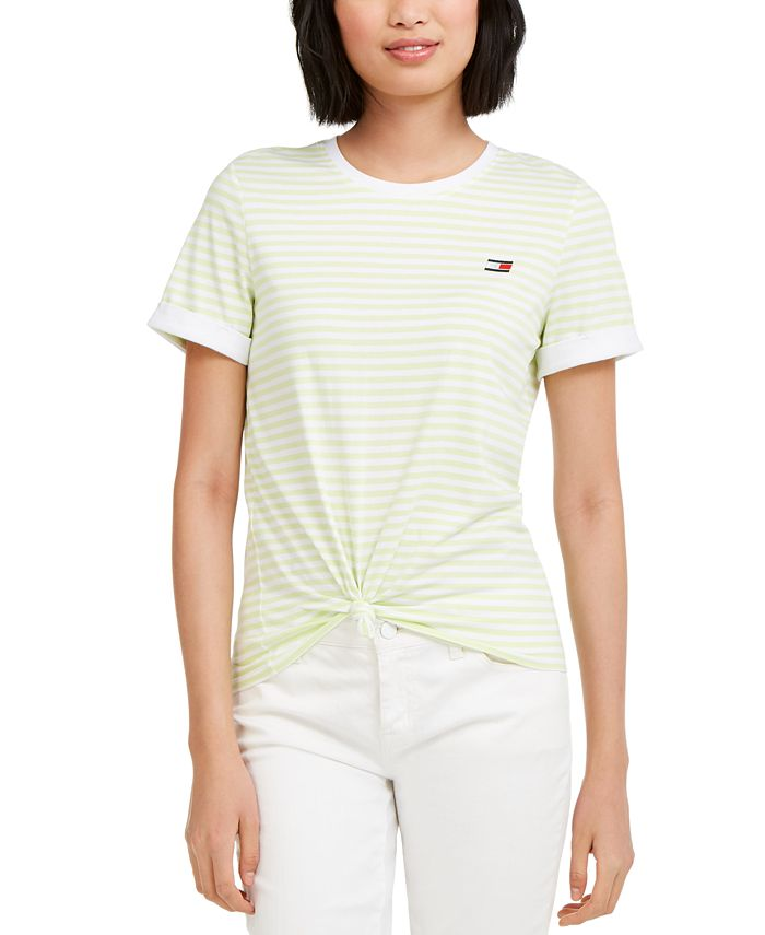Tommy Hilfiger - Knot Front T-Shirt