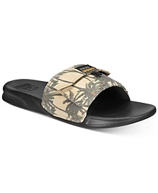 Men's Tropical Stash Slide Sandals