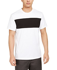 Men's Colorblocked Ottoman Stripe T-Shirt, Created for Macy's