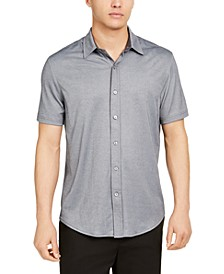Men's Solid Knit Shirt, Created for Macy's