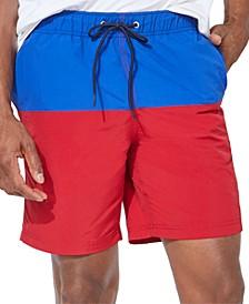 "Men's Colorblocked 8"" Swim Trunks"