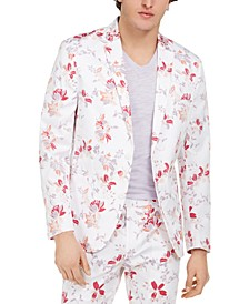 INC Men's Slim-Fit Julian Floral Blazer, Created for Macy's