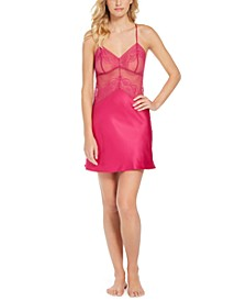 INC Lace Cup Chemise Nightgown, Created for Macy's