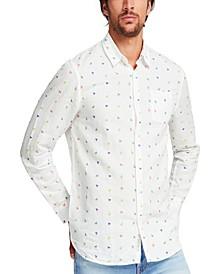 Men's Triangle Print Shirt