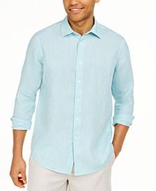 Men's Long-Sleeve Linen Shirt, Created for Macy's