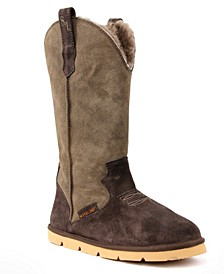 Women's Cowboy Extra Wide Calf Boots