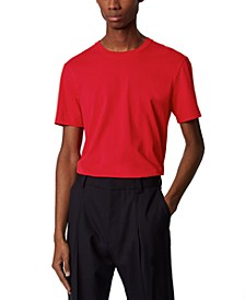 BOSS Men's Tiburt 55 Medium Red T-Shirt
