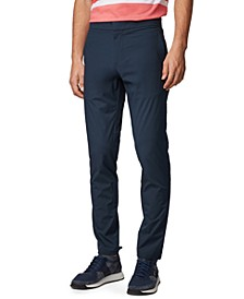 BOSS Men's Lavish-3 Navy Pants