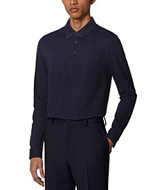 BOSS Men's Paver 13 Dark Blue Polo Shirt