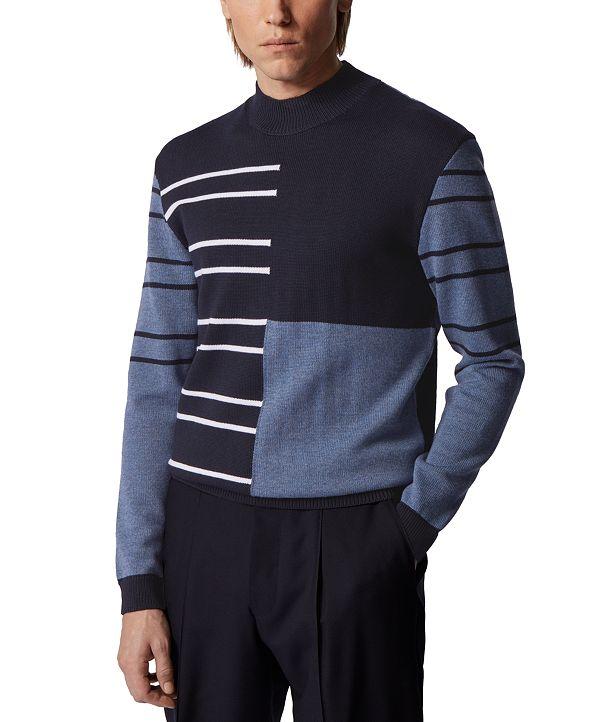 Hugo Boss BOSS Men's Ogusto Dark Blue Sweater