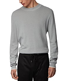 BOSS Men's Oleo Pastel Grey Sweater