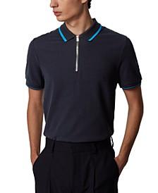 BOSS Men's Polston 15 Dark Blue Polo Shirt