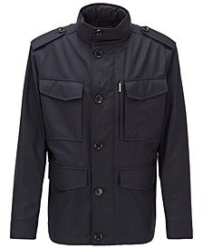 BOSS Men's T-Cyma Dark Blue Jacket