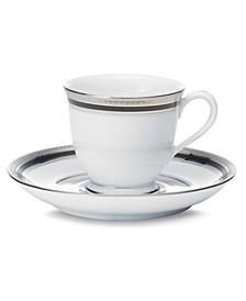 Dinnerware, Austin Platinum  After Dinner Cup & Saucer
