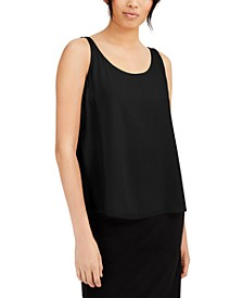 Silk Tank Top, Regular & Petite