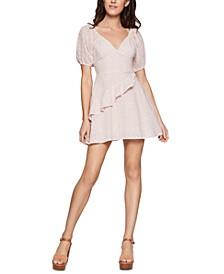Cotton Eyelet Mini Dress