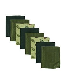Vine Microfiber Kitchen Towel, Set of 8