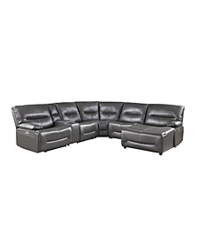 Nico 6-pc Power Reclining Sectional Sofa