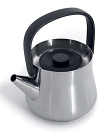 Ron Collection Stainless Steel 1.1-Qt. Teapot with Strainer