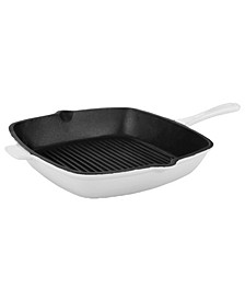 "Neo Collection Cast Iron 11"" Square Grill Pan"