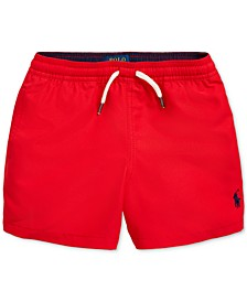 Little Boys Traveler Swim Trunks