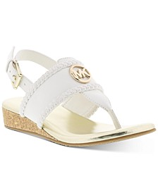 Micheal Kors Little & Big Girls Perry Discover Casual Sandals