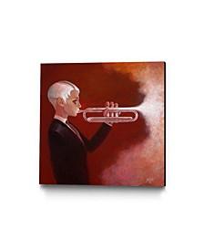 "Aaron Jasinski Blowing Smoke Museum Mounted Canvas 24"" x 24"""