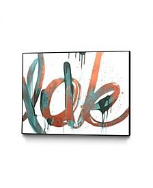 "Kent Youngstrom Copper Love Art Block Framed 44"" x 33"""