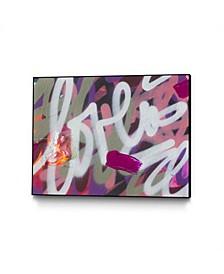 """Kent Youngstrom Love Paint 6 Art Block Framed 44"""" x 33"""""""