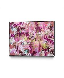 "Kent Youngstrom Love Spray Art Block Framed 44"" x 33"""