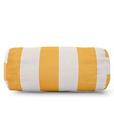 "Vertical Stripe Decorative Round Bolster Pillow 18.5"" x 8"""