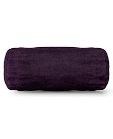 "Villa Decorative Round Bolster Pillow 18.5"" x 8"""