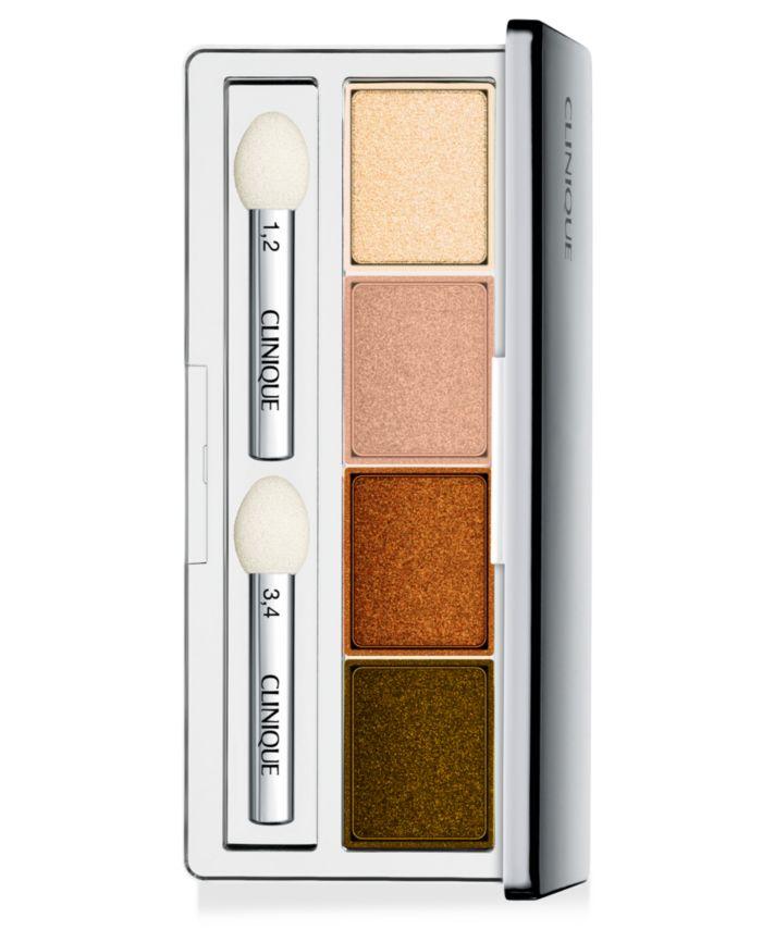 Clinique All About Shadow Quad, 0.016 oz & Reviews - Makeup - Beauty - Macy's